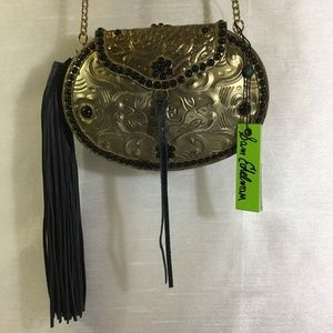 Sam Edelman Rosaleen Hard Case Crossbody Handbag